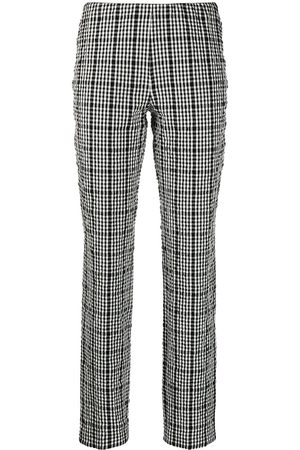 P.a.r.o.s.h. Checked slim-fit trousers