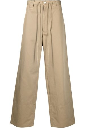 FACETASM X Dickies drawstring wide-leg trousers - Neutrals