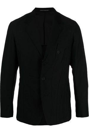 YOHJI YAMAMOTO Panelled stitch blazer