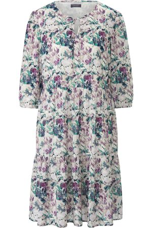 Mybc Dress 3/4-length sleeves and floral print multicoloured size: 22