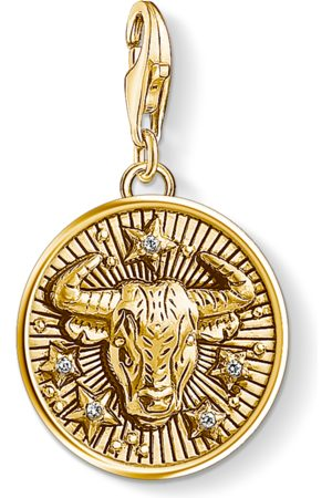 Thomas Sabo Charm pendant zodiac sign Taurus coloured 1653-414-39