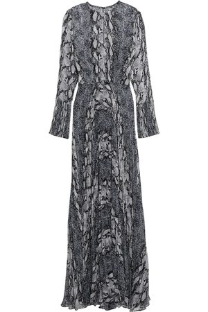 MIKAEL AGHAL Women Evening Dresses - Woman Pleated Georgette Gown Size 10