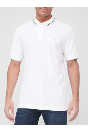 Very Man Tipped Pique Polo Shirt