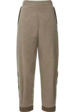 McQ Albion Strap Utility Cotton Twill Pants