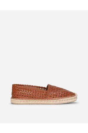Dolce & Gabbana Men Loafers - Loafers and Moccasins - WOVEN GOATSKIN ESPADRILLES male 40