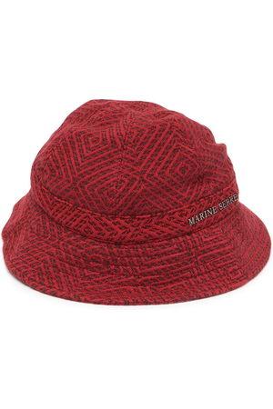 Marine Serre Logo-plaque bucket hat