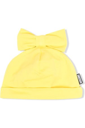 Moschino Bow-detailed beanie hat
