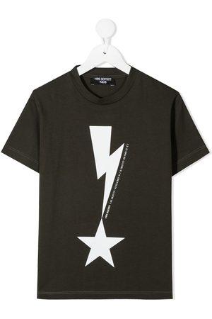 Neil Barrett Graphic-print cotton T-Shirt