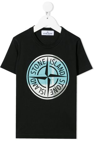 Stone Island Pin camo' logo T-shirt