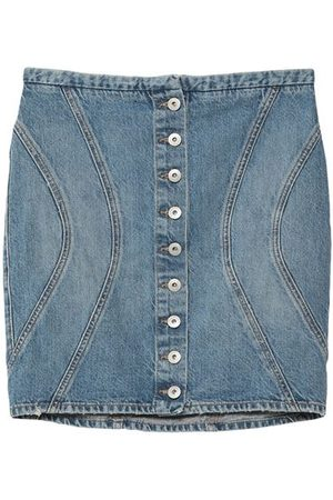 MARCELO BURLON Women Denim Skirts - DENIM - Denim skirts