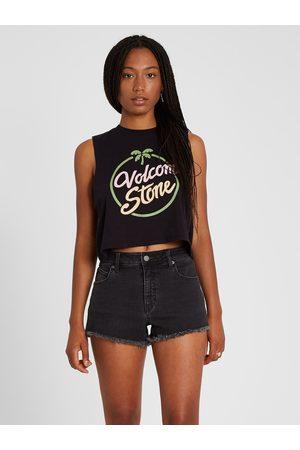 Volcom Women's Stoney Stretch Short - Asphalt
