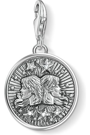 Thomas Sabo Necklaces - Charm pendant zodiac sign Gemini -coloured 1642-643-21