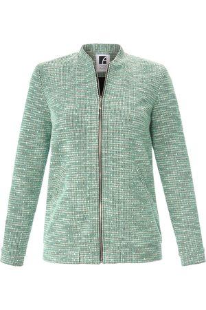 Anna Aura Blouson jacket in bouclé look size: 14