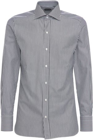 Tom Ford Sharp Stripe Cotton Shirt