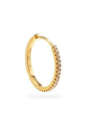 Maria Tash Eternity Diamond & 18kt Hoop Single Earring - Womens