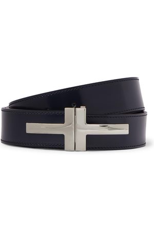 Tom Ford Men Belts - 3cm Polished-Leather Belt