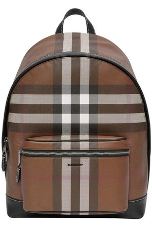 Burberry Check Backpack