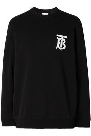 Burberry Monogram logo cotton sweatshirt