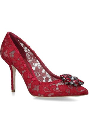 Dolce & Gabbana Lace Bellucci Pumps 90