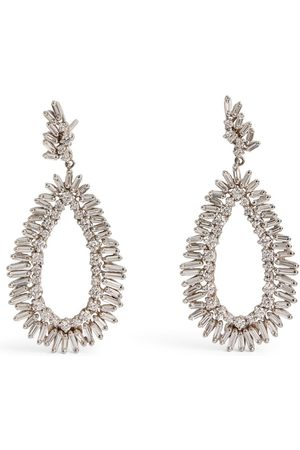 Suzanne Kalan Gold and Diamond Fireworks Earrings