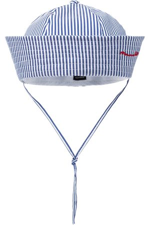 MONNALISA Stretch-cotton striped cap