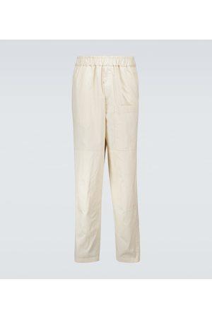 Jil Sander Elasticated cotton pants