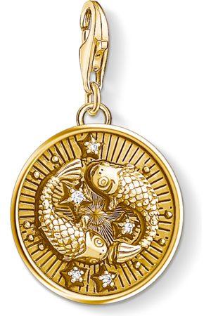 Thomas Sabo Necklaces - Charm pendant zodiac sign Pisces coloured 1651-414-39