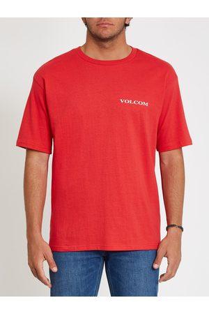 Volcom Men's Stone T-shirt - Carmine