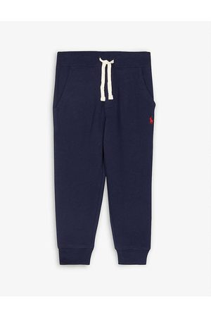 Ralph Lauren Kids Cotton-fleece jogging bottoms 2-14 years