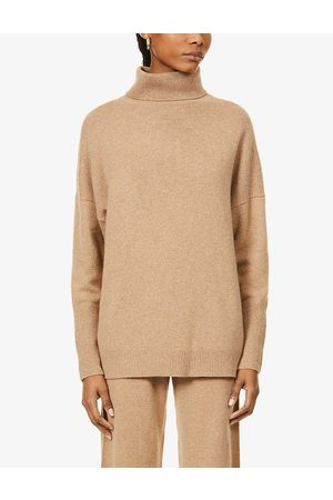 Chinti And Parker Roll-neck relaxed-fit cashmere jumper