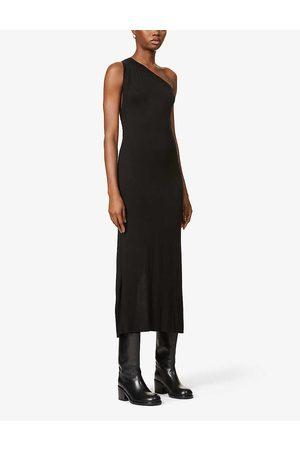 The Line By K Avalon asymmetric stretch-jersey midi dress