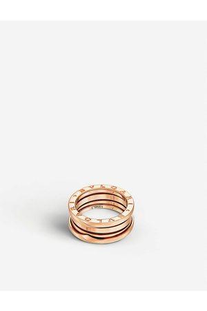Bvlgari B.zero1 three-band 18kt pink- ring