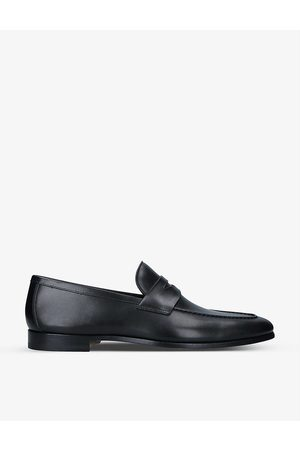 Magnanni Diezma leather penny loafers