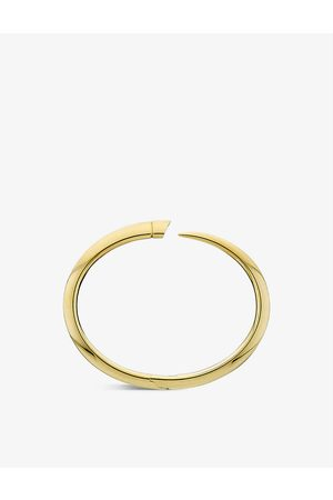 SHAUN LEANE Tusk -vermeil bangle