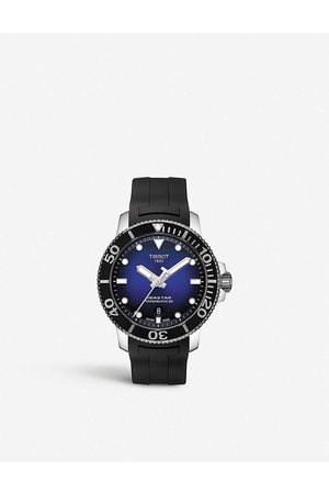 Tissot T120.407.17.041.00 Seastar 1000 stainless steel and rubber watch