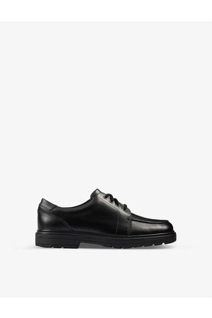 Clarks Kids Loxham Brogue Youth leather derby brogues 9-12 years