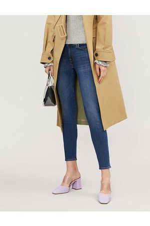 7 for all Mankind The Skinny Crop skinny mid-rise jeans