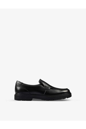 Clarks Kids Loxham Grove Youth leather loafers 9-12 years