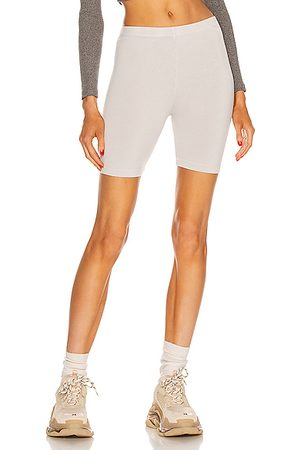 Cotton Citizen Milan Biker Short in Stone