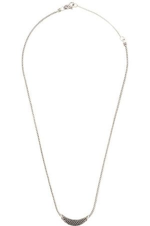 John Hardy Classic Chain spinel and sapphire necklace