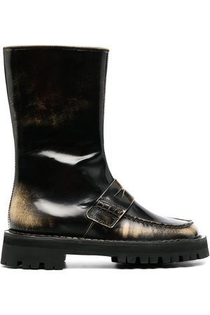 Camper Lab Eki mid-calf leather boots