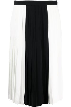 PORTS 1961 Women Pleated Skirts - Colour-block pleated skirt