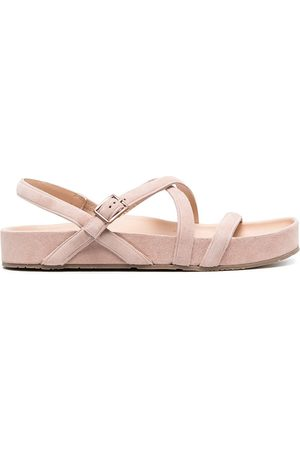 Pedro Garcia Crossover-strap buckled sandals