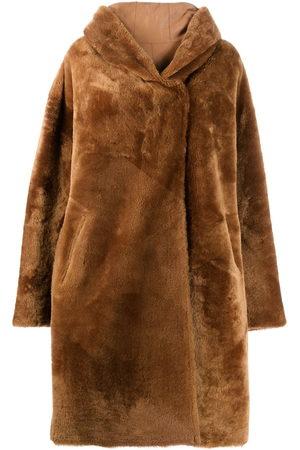 LISKA Chiron reversible oversized coat