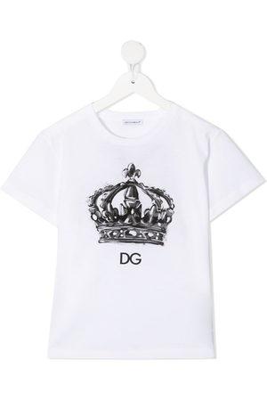 Dolce & Gabbana Crown-print logo T-shirt