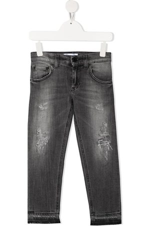 Dondup Boys Jeans - Distressed-finish jeans