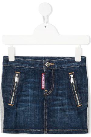 Dsquared2 Dark wash denim skirt