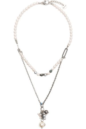 PORTS 1961 Mix pearl double necklace