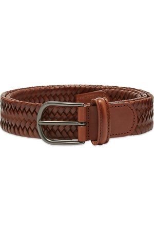 Anderson's Anderson's Stretch Woven Leather Belt