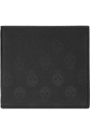 alexander mcqueen Printed Skull Billfold Wallet